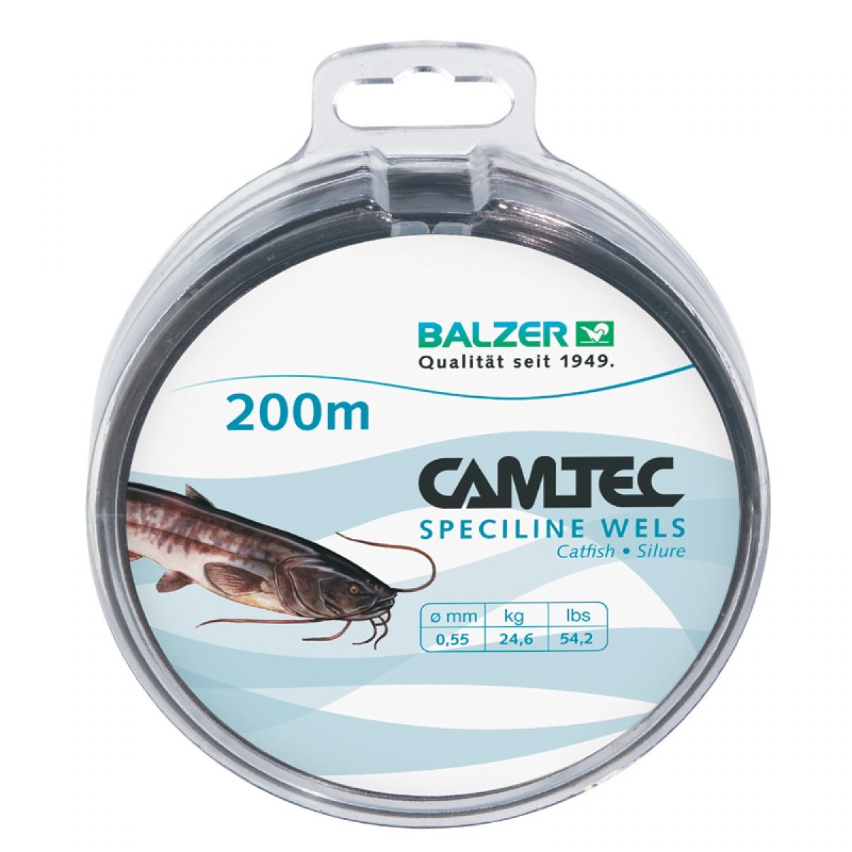 Camtec Schnur Wels 0,55 mm