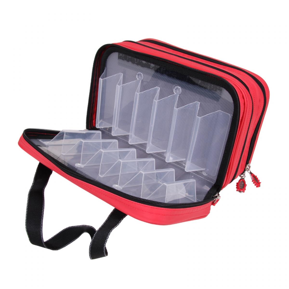 Steelpower Red Kunstköder Tasche
