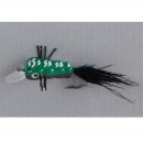 Balzer King Willi Trout Wobbler Fly green-black