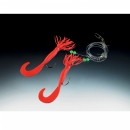 Balzer Norway pilk rigs Creeper red 2 arm