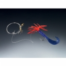 Balzer pilk rigs Creeper blue japanred 1 arm