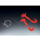 Balzer Pilk rigs Creeper red 2 arms
