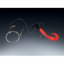 Balzer Pilk rigs Creeper red black 1 arm