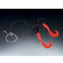 Balzer Pilk rigs Creeper red black 2 arms