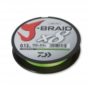 Daiwa J-Braid X8 chartreuse 0,51 mm