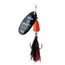 Dam Effzett Executor Dressed Spinner Black Fire 6 g