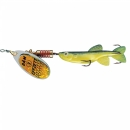 Dam Effzett Minnow yellow black 13 g