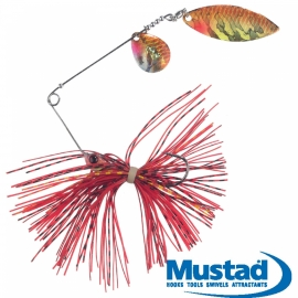 Balzer Colonel Spinner Bait red yellow