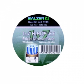 1x 7 Niroflex stainless steel spool