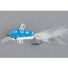Balzer King Willi Wobbler Fliege blau-weiss