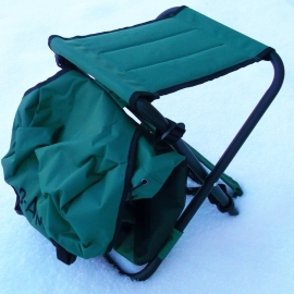 DAM angler´s backpack with chair light