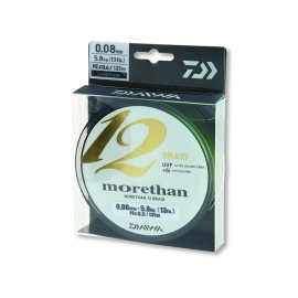 Daiwa Morethan 12 Braid 300 m 0,18 mm