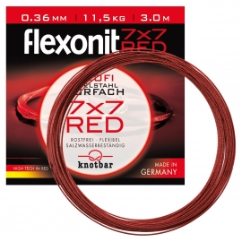 Flexonit 7x7 Red 0,36mm / 11,5kg / 3 m