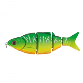 Herakles Swimbait Real Shad 105 Fire Tiger