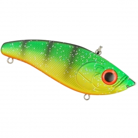 Spro Jerkbait Screamin Baby Devil schwimmend Figer Tiger Flash
