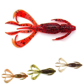 Keitech Crazy Flapper 2.8 Electric Smoke Craw