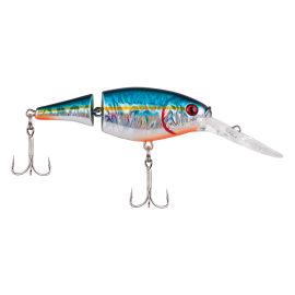 Berkley Flicker Shad Jointed Slick 7 cm Slick Blue Alewife