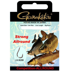 Gamakatsu Bkd-Allround Strong 50cm 0,24mm 8 bronze